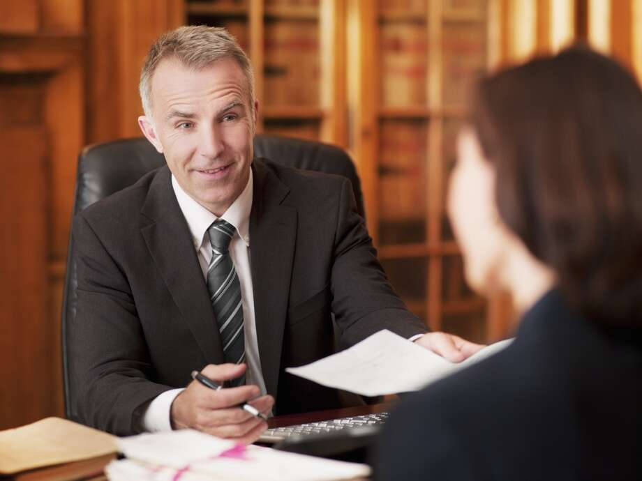 """16. Lawyers20 percent of survey participants said the honesty and ethical standards of lawyers are """"very high"""" or """"high."""" Photo: Chris Ryan, Getty Images/OJO Images RF"""