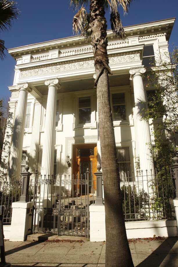Jefferson Airplane house, 2400 Fulton St. 'The Mansion' was ground zero for S.F. rock parties and the group named their 1987 greatest hits album after the address. Photo: Craig Lee, The Chronicle