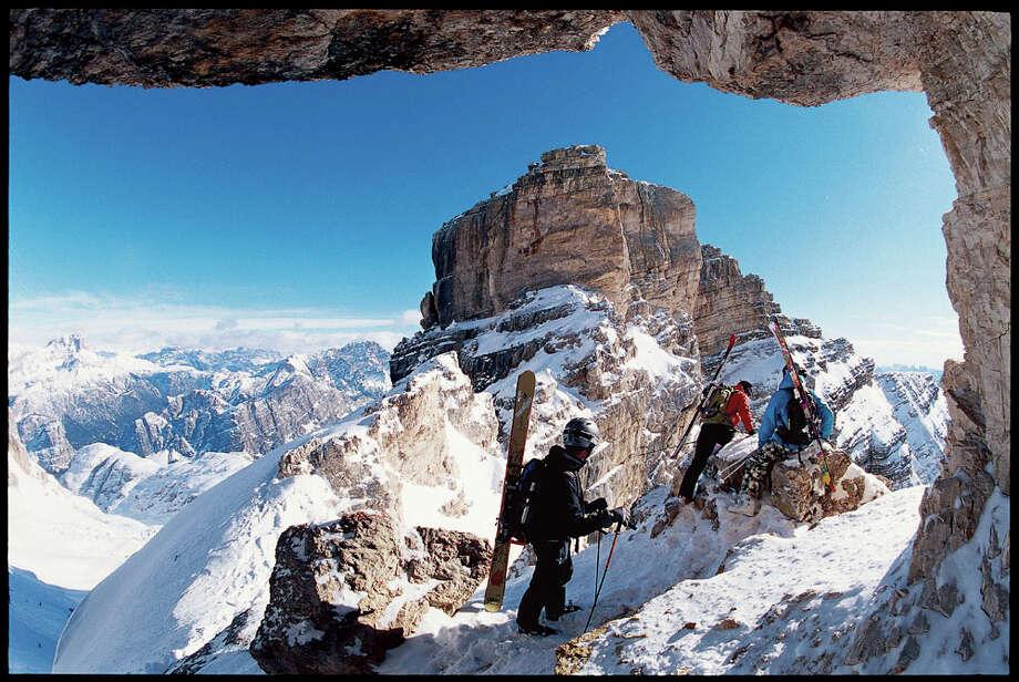 The rugged, snowy beauty of Italy Photo: Krause & Johansen