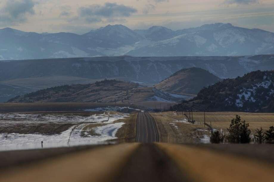 In Montana on the road to Jackson Hole Photo: Sara Fox