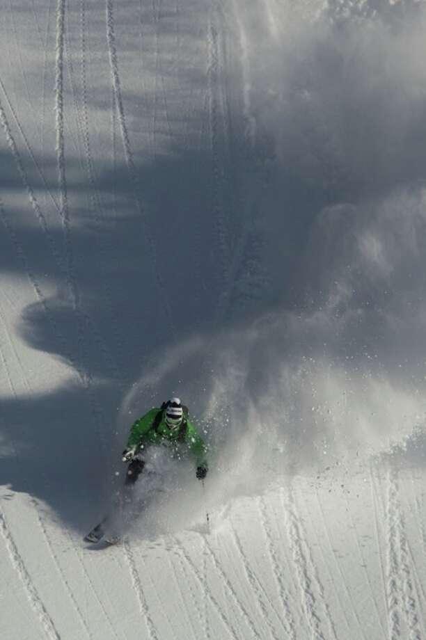 Alta, Utah still  has sweet snow. Photo: Jamie Pierre