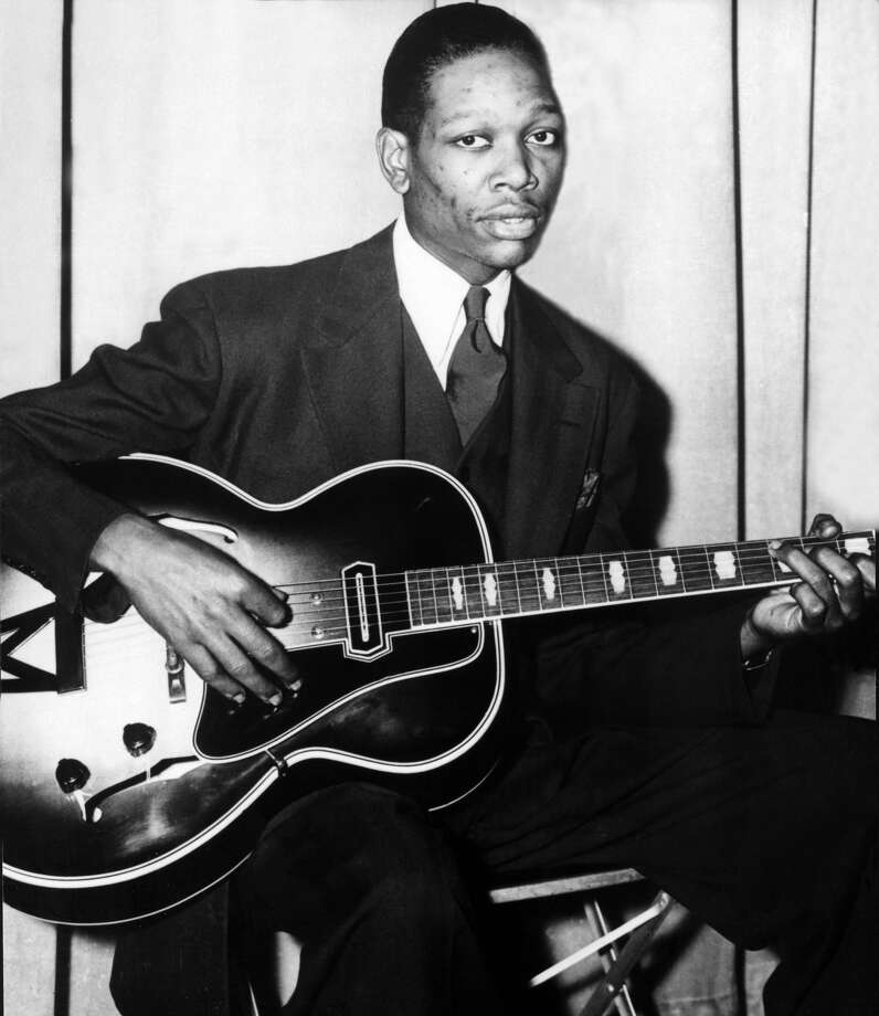 Charlie ChristianSome genres of music wouldn't be the same without this Texan. Born in Bonham, Texas in 1916, Christian was a swing and jazz guitarist. Christian was an early performer on the electric guitar, and also helped develop bebop and cool jazz.