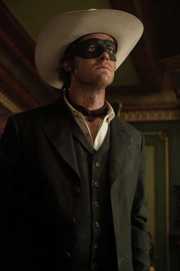 Armie Hammer as The Lone Ranger. Photo: Peter Mountain/Disney, 2013 / ©Disney Enterprises, Inc. and Jerry Bruckheimer Inc.  All Rights Reserved.