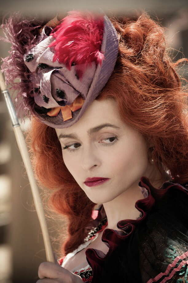 Helena Bonham Carter as Red Harrington. Photo: Peter Mountain/Disney, 2013 / ©Disney Enterprises, Inc. and Jerry Bruckheimer Inc.  All Rights Reserved.