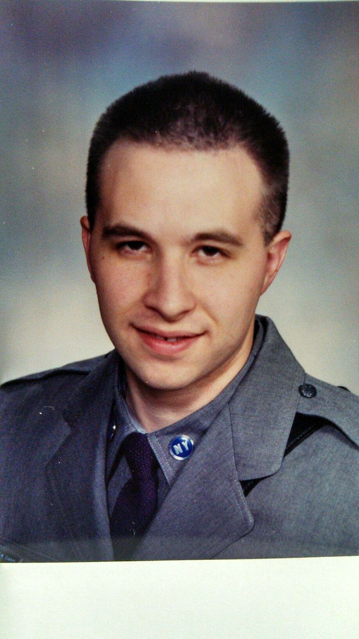 Trooper David Cunniff was killed in a crash on the Thruway. (State Police photo)
