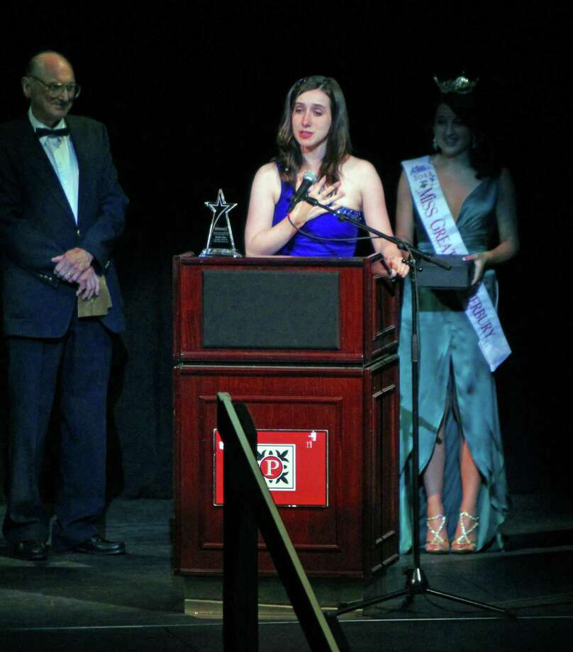 "Ashley Pacelli, of New Canaan, a student at Connecticut College, received the Outstanding Performance by a Supporting Female at the Connecticut High School Musical Theater Awards in 2011 for her role in ""The Drowsy Chaperone."" Photo: Contributed Photo, Contributed / New Canaan News Contributed"