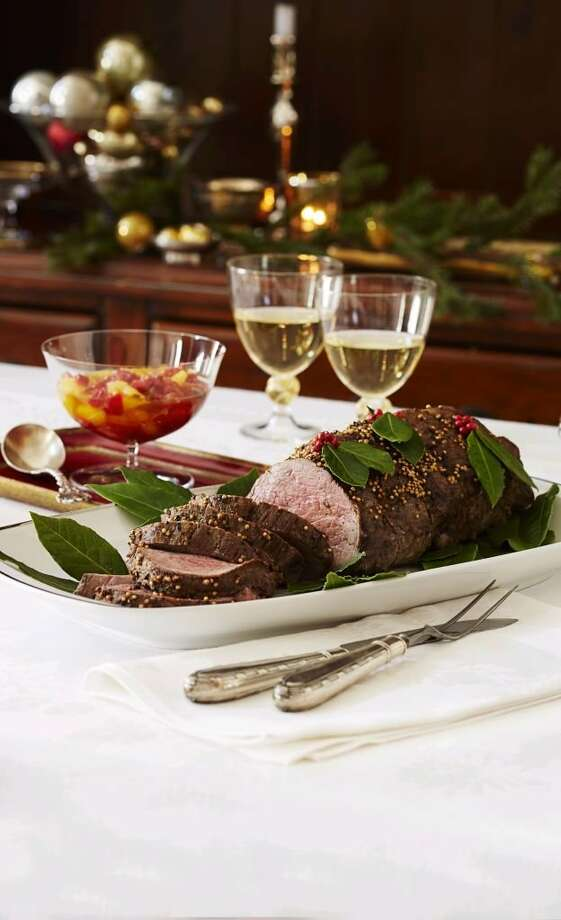 Beef Tenderloin with Citrus Red Pepper Chutney From Good Housekeeping Photo: Kate Mathis