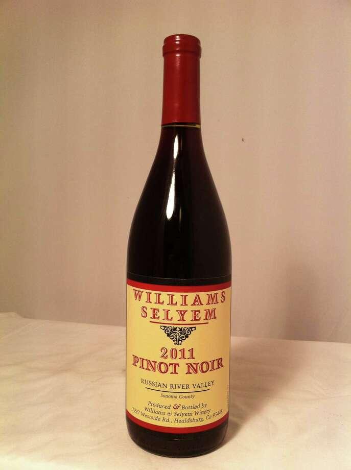 2011 Williams Selyem Russian River Valley Pinot Noir Photo: Dale Robertson, HC Staff / Houston Chronicle