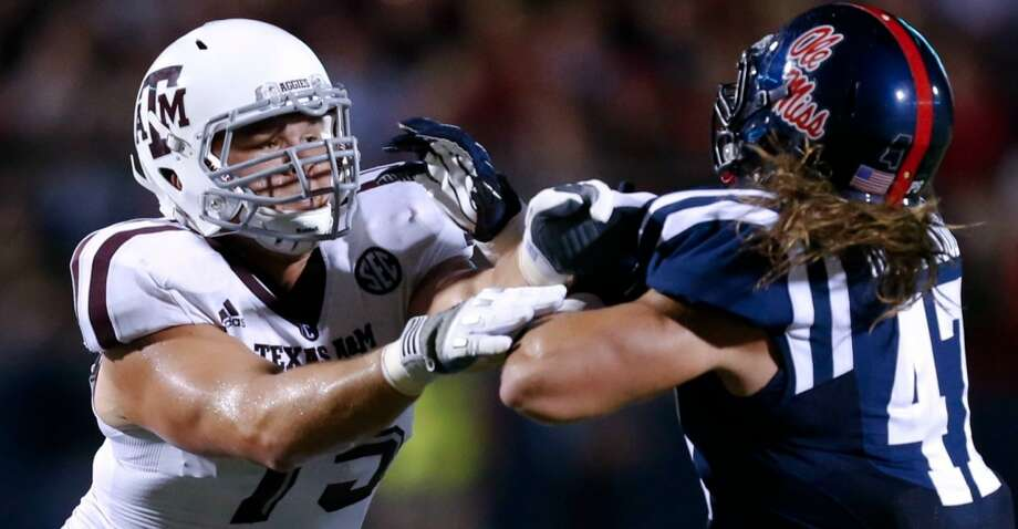 T - Jake Matthews, Texas A&M, 6-5, 305, Sr. Missouri City (Elkins) Photo: Rogelio V Solis, Associated Press