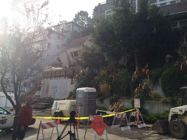 S f developer ducked fees on house that collapsed sfgate for 125 crown terrace