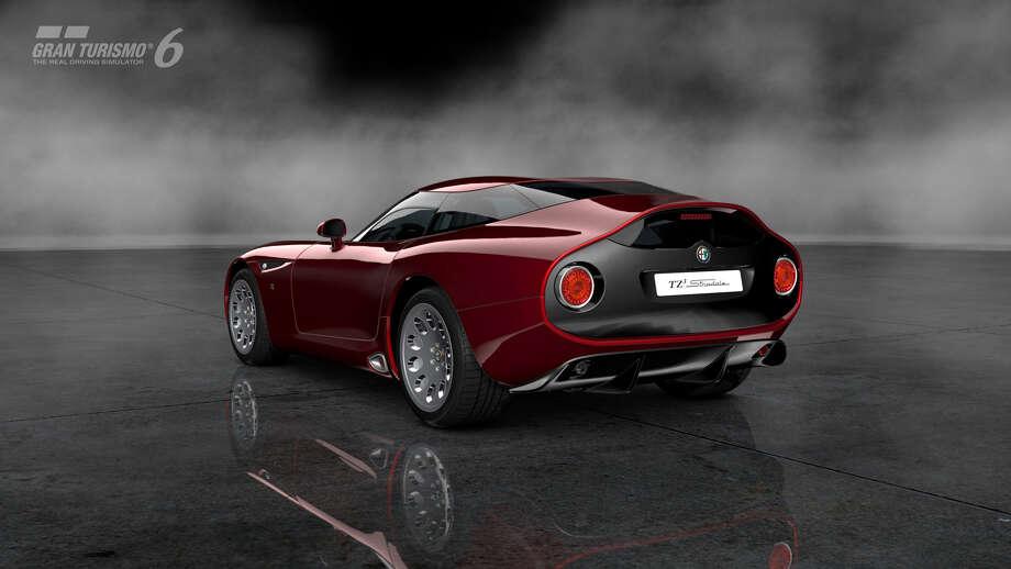 Alfa Romeo TZ3 Photo: Courtesy Sony Computer Entertainment