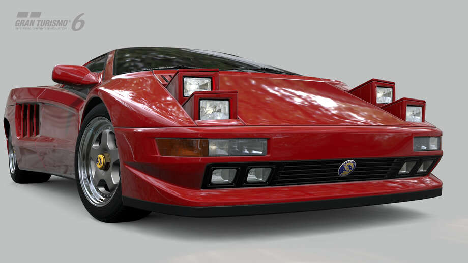 1994 Cizeta V16T Photo: Courtesy Sony Computer Entertainment