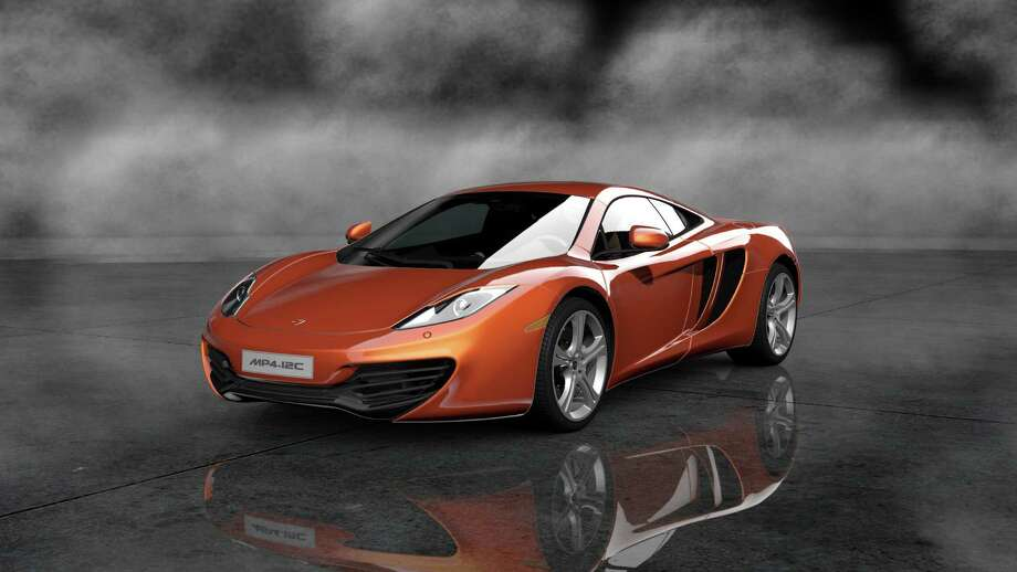 Mclaren mp4-12c Photo: Courtesy Sony Computer Entertainment