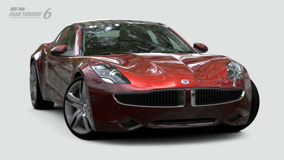 Fisker Karma EcoSport Photo: Courtesy Sony Computer Entertainment