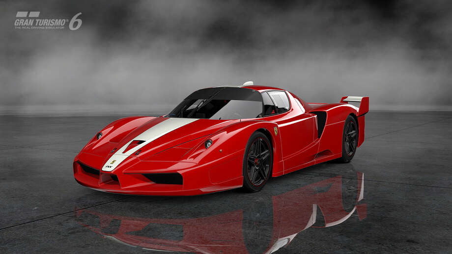 2007 Ferrari FXX Photo: Courtesy Sony Computer Entertainment