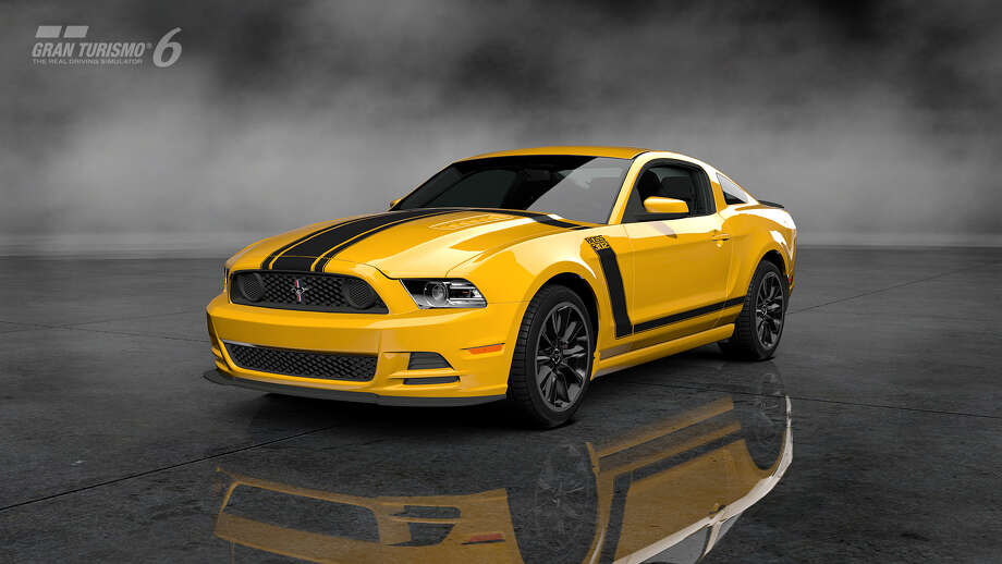 2013 Ford Mustang Boss 302 Photo: Courtesy Sony Computer Entertainment