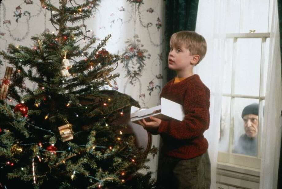 """Home Alone"" is the 1990 Christmas classic in which 8-year-old Kevin McCallister is accidentally left behind after his family takes off to Paris for Christmas.