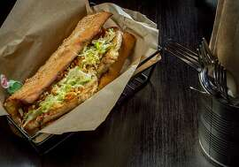 The Porchetta sandwich at Merigan in San Francisco, Calif., is seen on December 12th, 2013.