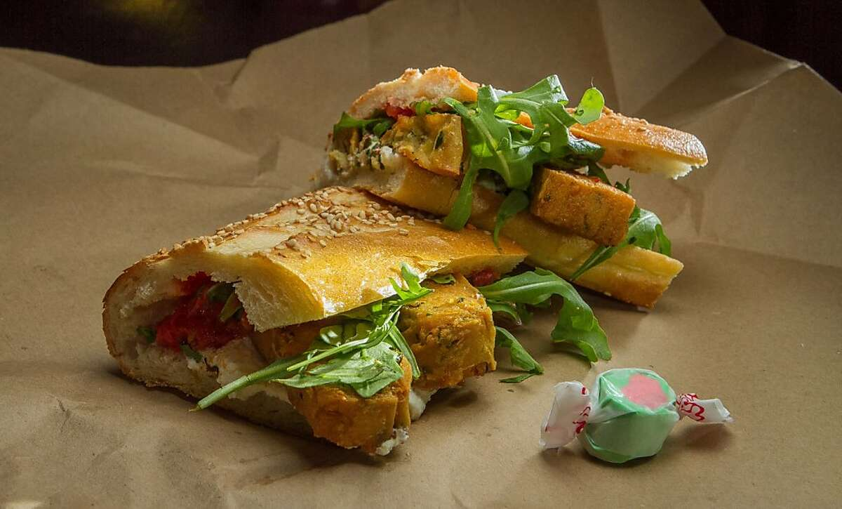 The Panelle sub at Merigan in San Francisco, Calif., is seen on December 12th, 2013.