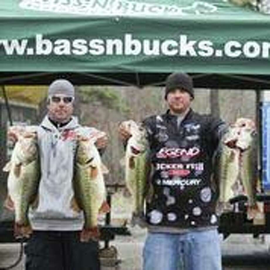 The winning team of Todd Castledine and Russell Cecil took home $3,663 for their impressive 33.71-pound weigh-in and 9.12 big bass.