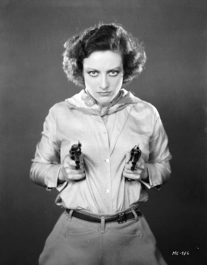 11th January 1930:  Joan Crawford in 'Montana Moon.'  Always dangerous. Photo: John Kobal Foundation, Getty Images