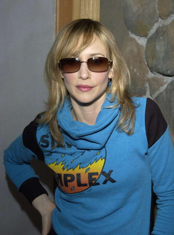 Vera Farmiga wearing Ralph Lauren sunglasses, Park City, 2004. Photo: Ray Mickshaw, WireImage