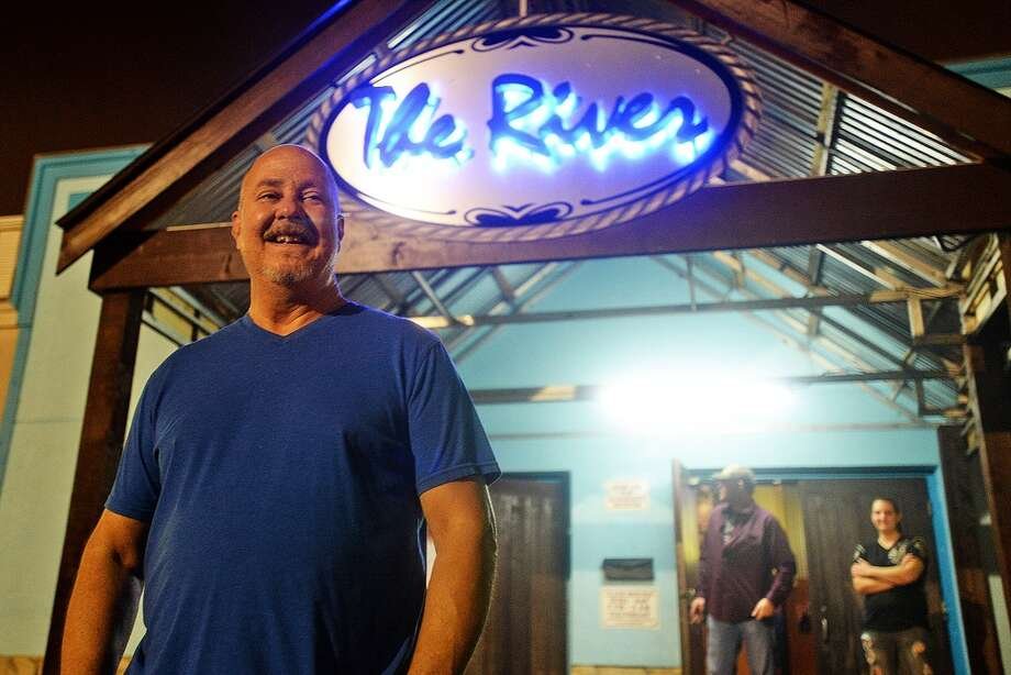 Manger and part owner of the River Roy Etie stands in front of the newly remolded and rebranded The River on Wednesday. Michael Rivera/@michaelrivera88