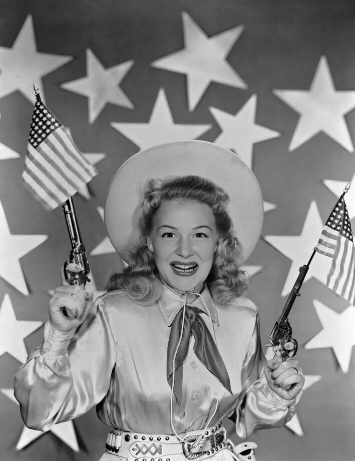 American actress and singer Betty Hutton (1921 - 2007), circa 1950. Photo: John Kobal Foundation, Getty Images