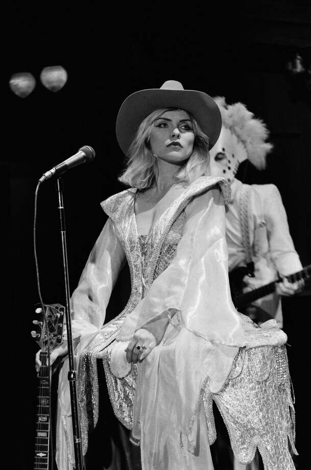 "Deborah Harry during the musical performance of 'Come Back Jonee' on February 14, 1981 on ""Saturday Night LIve."" Photo: NBC, NBC Via Getty Images"