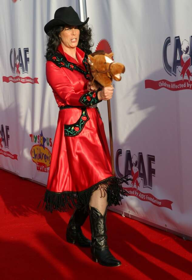 Actress Jamie Lee Curtis attends the 11th annual Children Affected by AIDS Dream Halloween fundraiser on October 30, 2004. Photo: Ana Elisa Fuentes, Getty Images