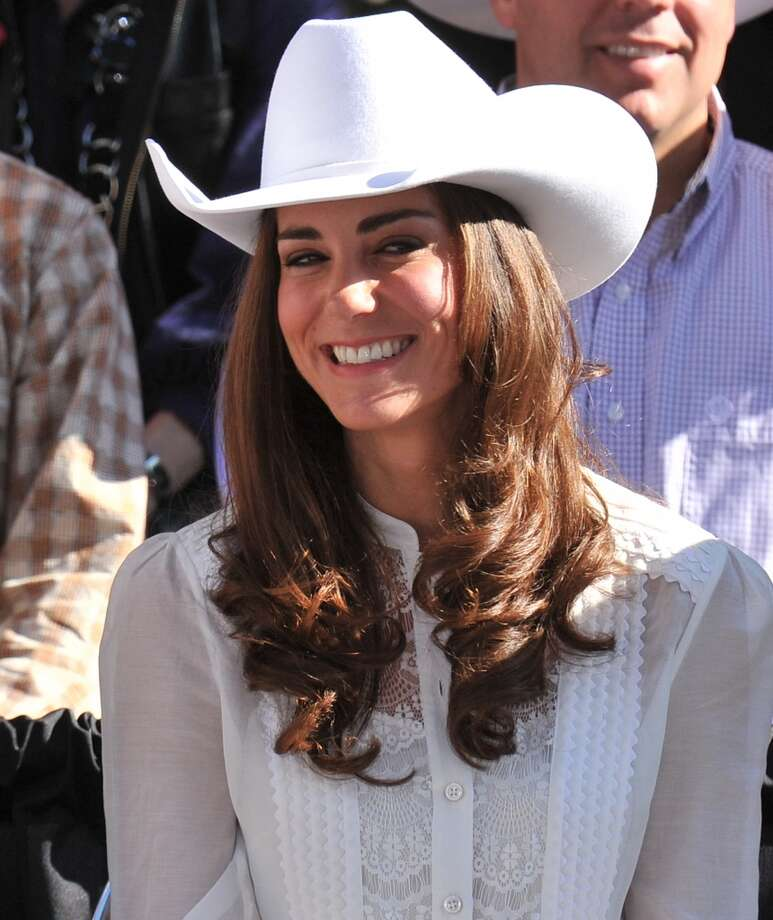 Catherine, Duchess of Cambridge attends the Calgary Stampede Parade on Day 9 of the Royal couple's tour of North America on July 8, 2011. Photo: George Pimentel, WireImage