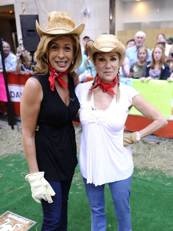 "Hoda Kotb and Kathie Lee Gifford appear on NBC News"" ""Today"" show, 2011. Photo: NBC NewsWire, NBC NewsWire Via Getty Images"