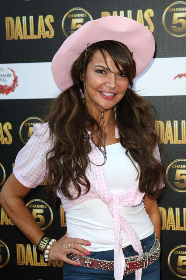 Lizzie Cundy arrives at the launch party for the new Channel 5 television series of 'Dallas' at Old Billingsgate on August 21, 2012 in London, England. Photo: Claire Greenway, Getty Images