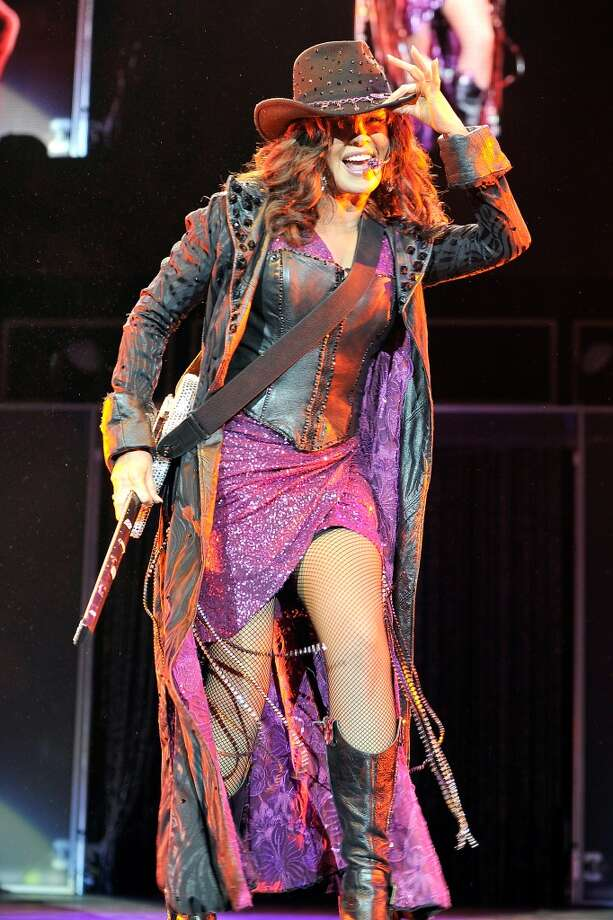 Marie Osmond performs at the Donny and Marie Osmond concert at the 02 Arena on January 20, 2013 in London. Photo: Matt Kent, WireImage
