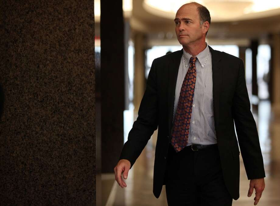 Kevin Kirton, of Buckhead Investment Partners, returns to courtroom to hear closing arguments in the Ashby Highrise Trial at the Harris County Civil Courthouse on Monday, Dec. 16, 2013, in Houston. ( Mayra Beltran / Houston Chronicle ) Photo: Mayra Beltran, Houston Chronicle
