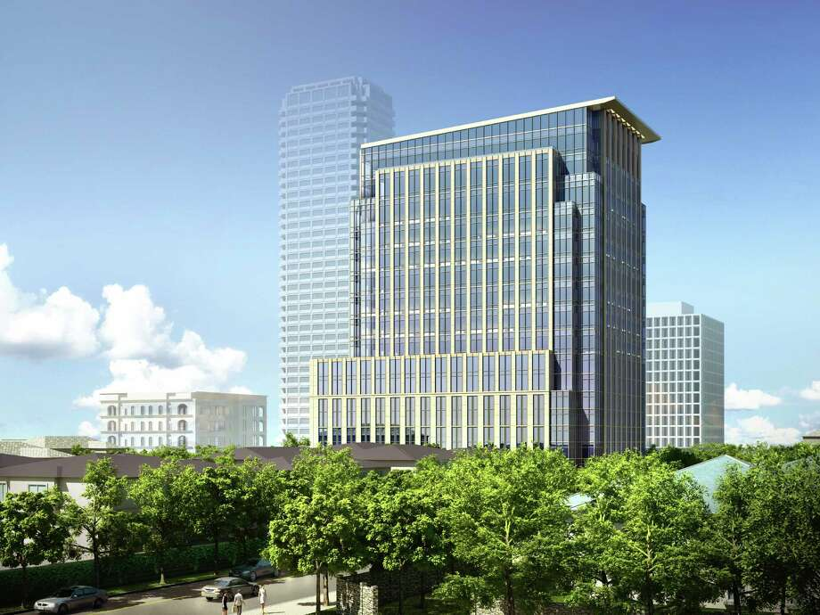 Hines is developing a 17-story office building with 167,000 square feet of office space and parking for 400 cars. Residential neighbors of the project, to be located on San Felipe between Kirby and Shepherd, oppose the building's size and scope. Photo: Hines