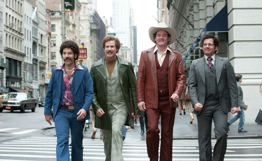 "In anticipation of ""Anchorman 2: The Legend Continues,"" we thought it would be fun to assemble our own ""Anchorman""-style news team. We may not have ""smelly pirate hookers"" or Sex Panther, but there are similarities between local news personalities and the characters in ""Anchorman."" Stay classy, San Antonio. Photo: Courtesy Paramount Pictures / Paramount Pictures"