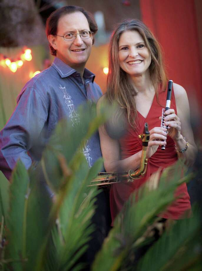 Alto saxophonist Richard Oppenheim moved to San Antonio from New York in 2006 with his wife and music partner, Katchie Cartwright, Photo: Courtesy Photo