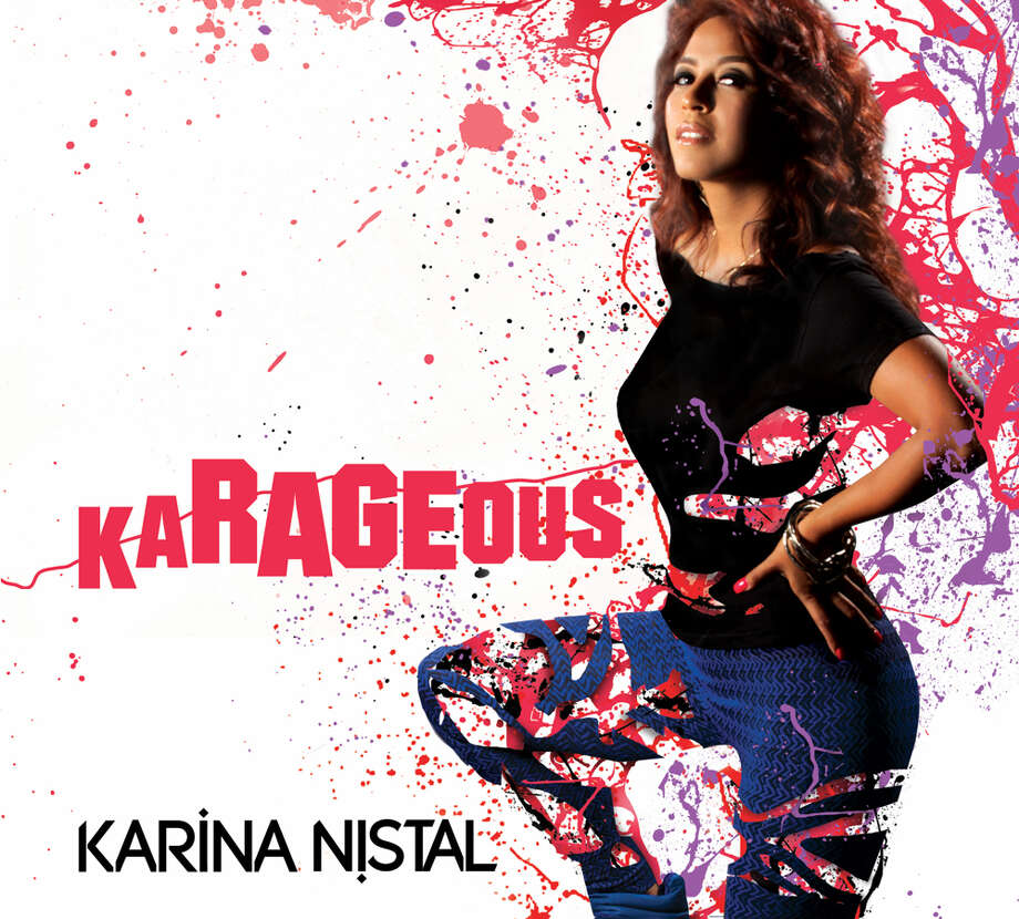 "Cover art for ""#KaRAGEous"" by Karina Nistal. Photo: CD Artwork"