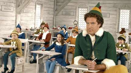"Will Ferrell stars as Buddy in ""Elf."""