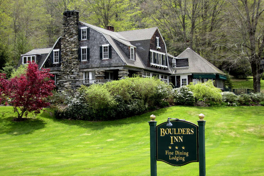 The Boulders Inn, located in Warren along Route 45, has reportdly be sold for $6 million for buildings and grounds. December 2013 Photo: Norm Cummings / The News-Times