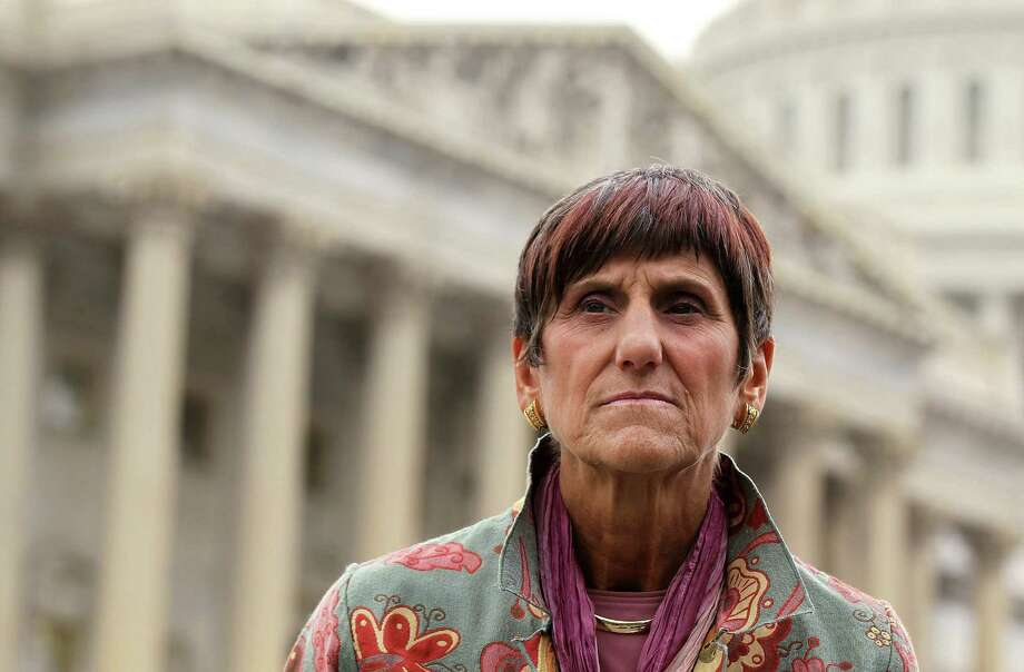 U.S. Rep. Rosa DeLauro (D-CT) listens during a news conference September 21, 2011 on Capitol Hill in Washington, DC. DC. Photo: Alex Wong, Alex Wong/Getty Images / 2011 Getty Images