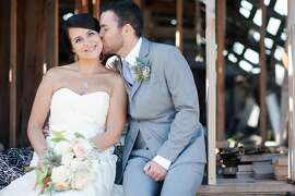 Kyra Byrne and Sawyer Steele, both 32, married at Sova Gardens in Sebastopol on Friday, Aug. 23, with a weekend on the Russian River that included swimming and a barbecue.