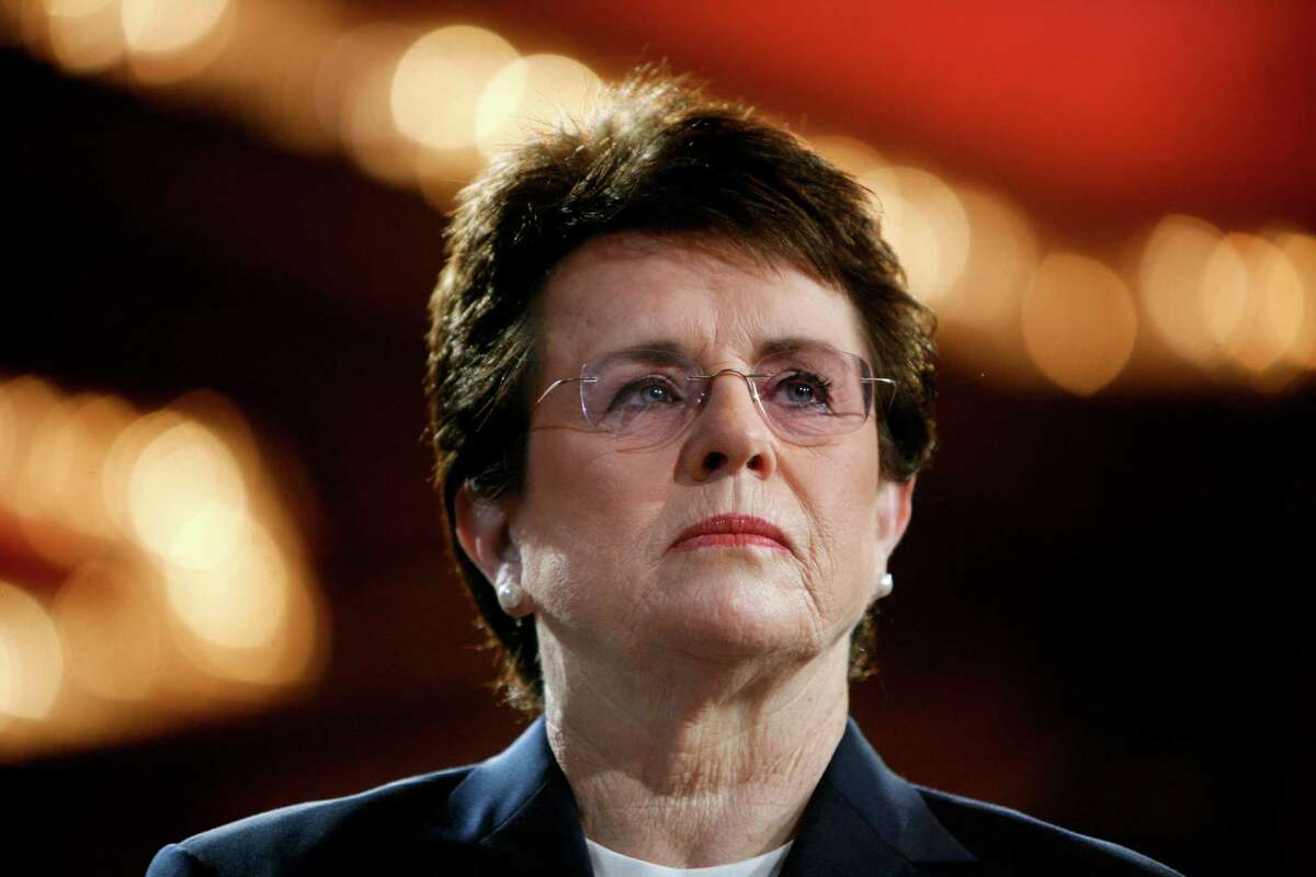 Billie Jean King said she was