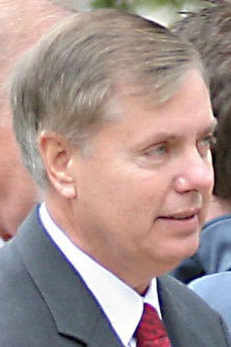 Sen. Lindsey Graham said change had to come. / HERALD JOURNAL