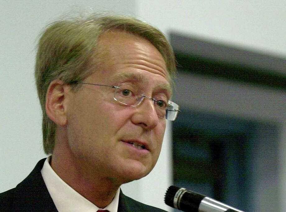 FILE - In this May 6, 2004 file photo, Miami attorney Larry Klayman speaks in Melbourne, Fla. Larry Klayman might not be an all-around household name, but it's a good bet he has sued someone who is. U.S. District Court Judge Richard Leon on Monday granted Klayman's request for an injunction blocking the collection of phone data for Klayman and co-plaintiff Charles Strange. The judge stayed the action pending an expected government appeal, but the ruling in his favor in federal court puts Klayman back in the headlines with his legal activism. (AP Photo/Peter Cosgrove, File) Photo: Peter Cosgrove, STF / AP