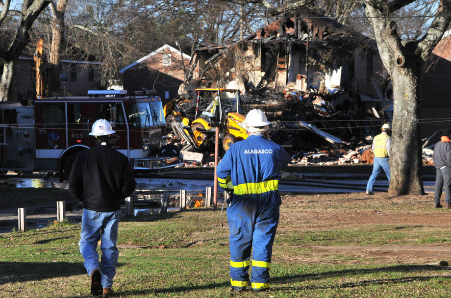 The cause of the fatal explosion at an apartment complex in Birmingham, Ala., was still being investigated, but officials suspected natural gas. Photo: Frank Couch / Associated Press / AL.com