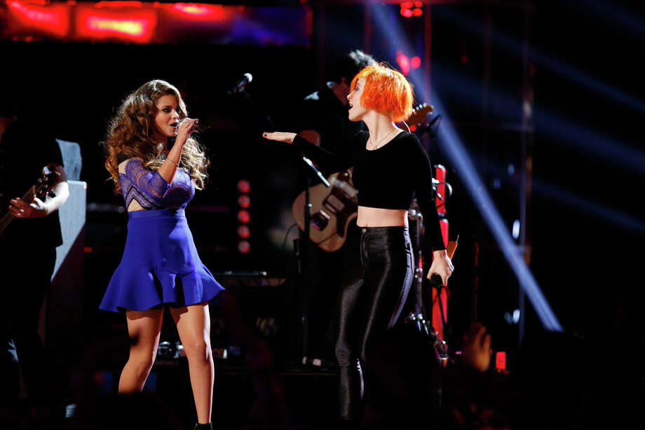 "THE VOICE -- ""Live Finale"" Episode 519B -- Pictured: (l-r) Jacquie Lee, Paramore -- (Photo by: Trae Patton/NBC) Photo: NBC, Trae Patton/NBC / 2013 NBCUniversal Media, LLC"