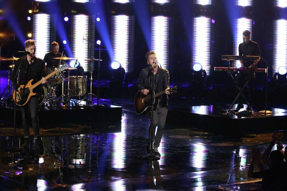 "THE VOICE -- ""Live Finale"" Episode 519B -- Pictured: One Republic -- (Photo by: Tyler Golden/NBC) Photo: NBC, Tyler Golden/NBC / 2013 NBCUniversal Media, LLC"
