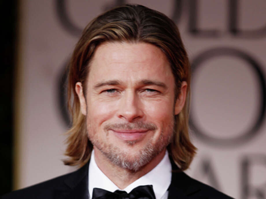 Brad Pitt arrives at the 69th Annual Golden Globe Awards Sunday, Jan. 15, 2012, in Los Angeles. Photo: Matt Sayles, AP / AP
